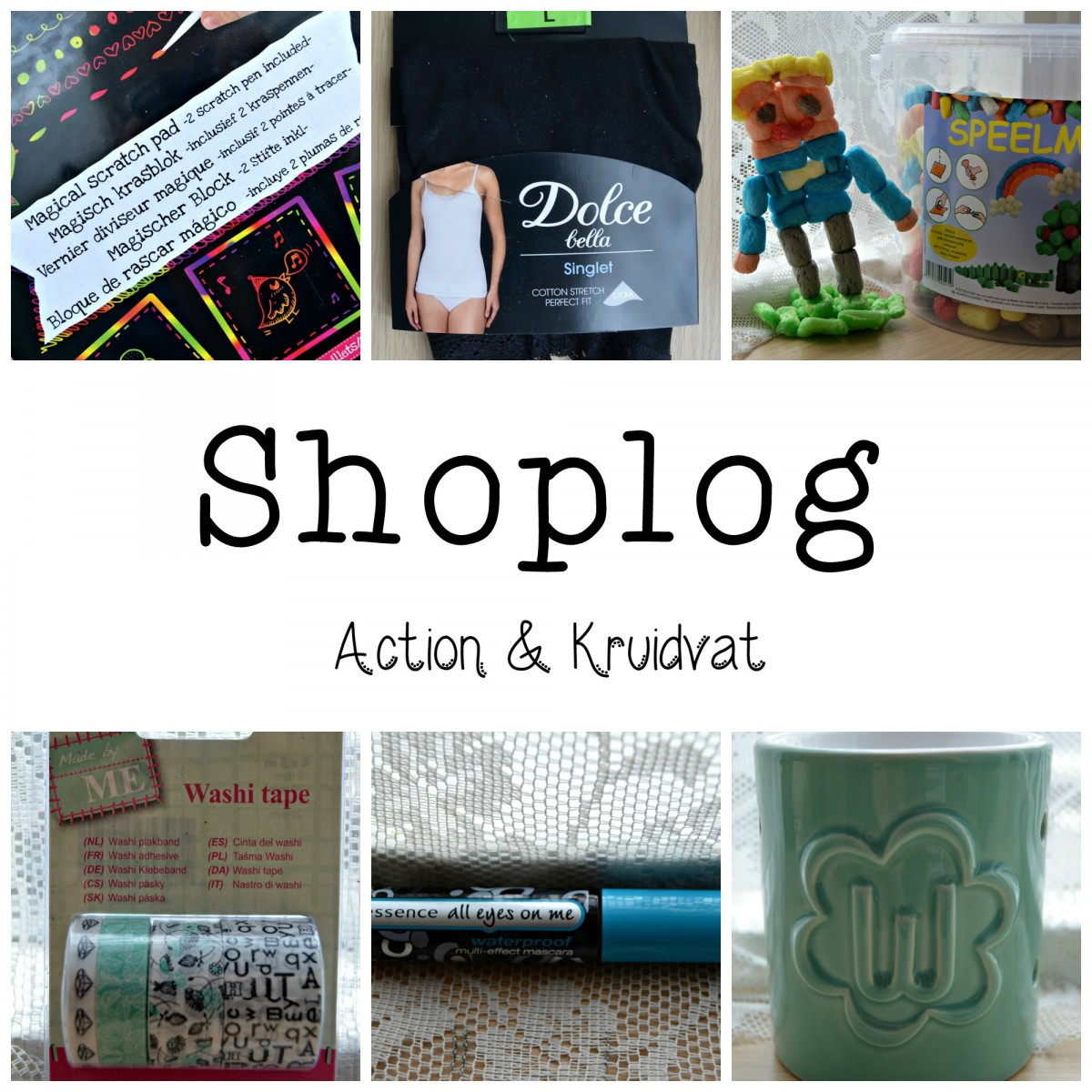 shoplog action en kruidvat