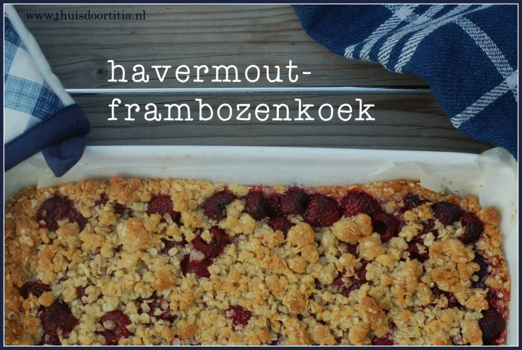 havermout-frambozenkoek