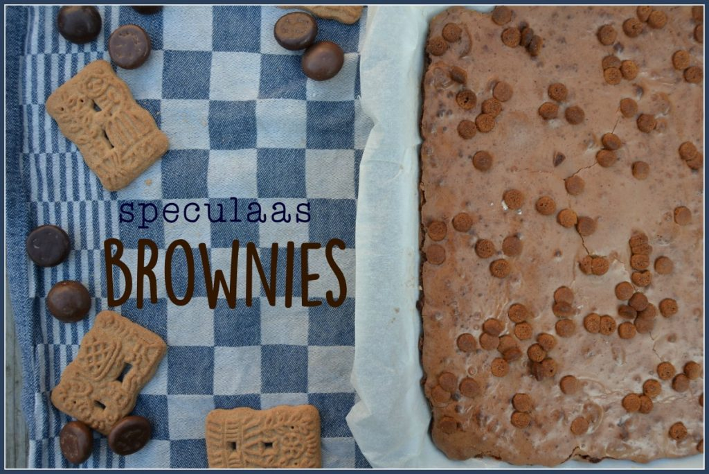 speculaas-brownies